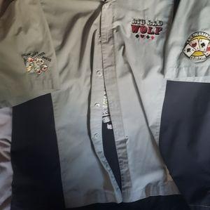 Short sleeve button-up shirt